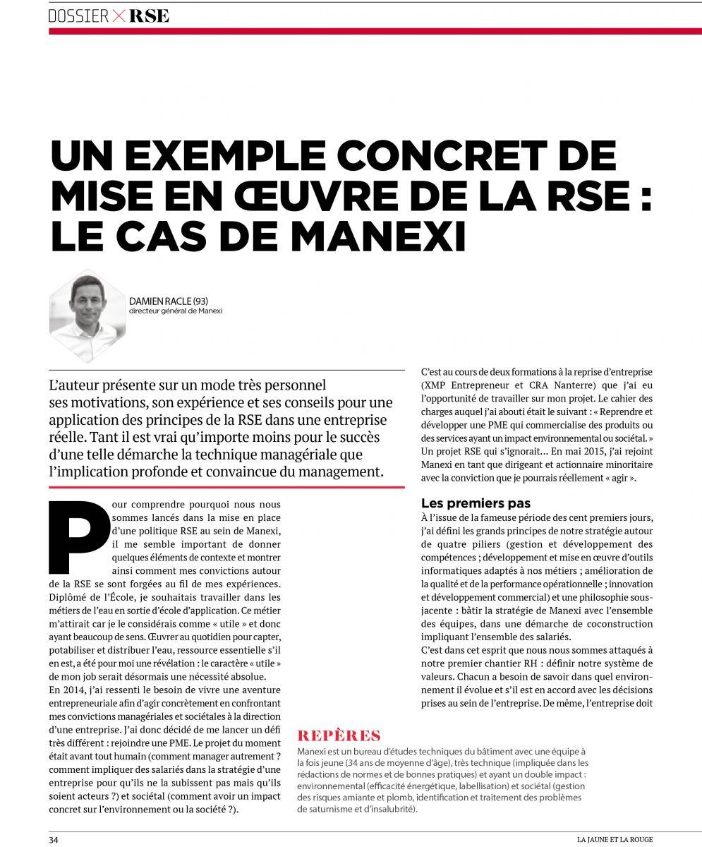 Dossier RSE 1