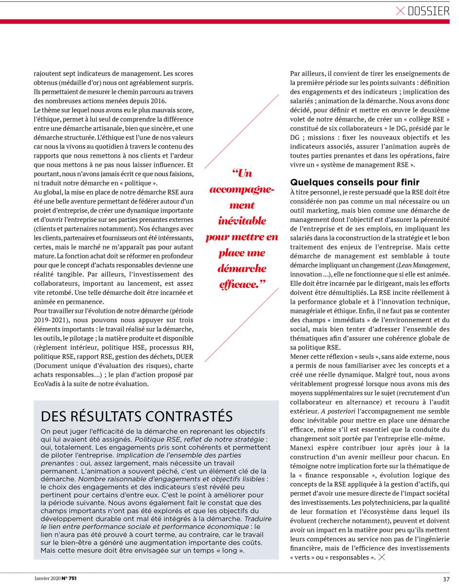Dossier RSE 4